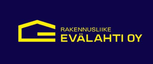 Rakennusliike Evälhden logo